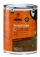 LOBASOL DeckOil Color 2,5l Dunkelbraun