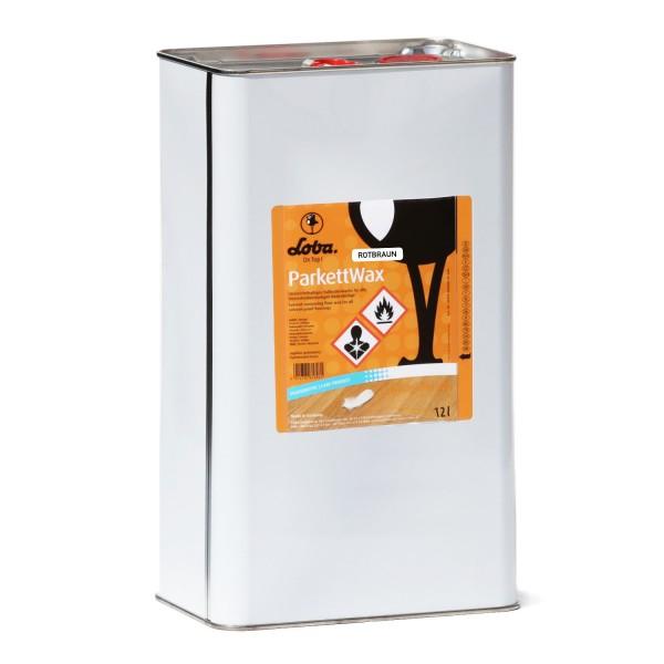 LOBACARE® ParkettWax rotbraun 12 Liter