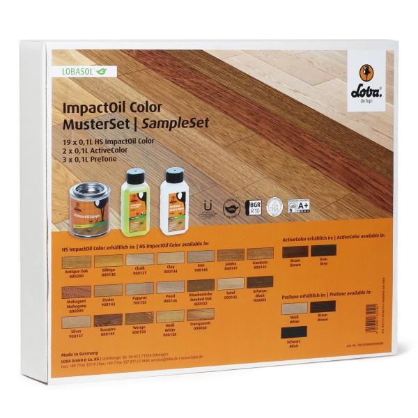 LOBASOL HS 2K ImpactOil Color Musterdosen-Set
