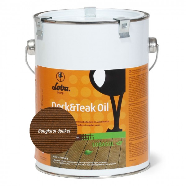 LOBASOL Deck&Teak Oil Color 2,5l